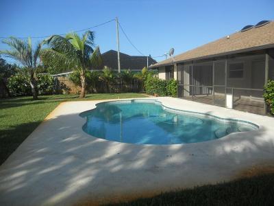 Stuart Rental For Rent: 4992 SE Pompano Terrace