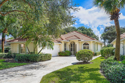 Palm Beach Gardens Single Family Home For Sale: 112 Winter Club Court