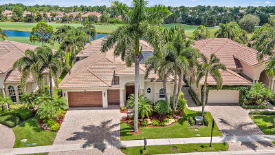 Palm Beach Gardens Single Family Home Contingent: 214 Montant Drive