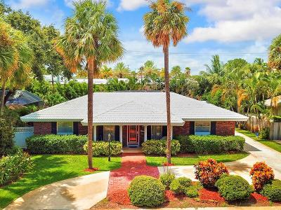 North Palm Beach Single Family Home For Sale: 11625 Landing Place