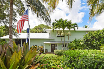 Hobe Sound Single Family Home For Sale: 9720 SE Gomez Avenue