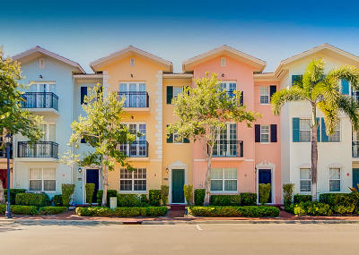 Delray Beach Townhouse For Sale: 1008 E Heritage Club Circle