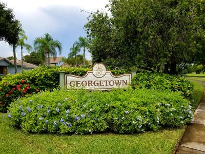 Hobe Sound Single Family Home Contingent: 6189 SE Georgetown Place #502