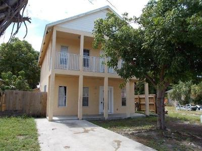 West Palm Beach Single Family Home For Sale: 510 18th Street