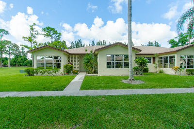 Delray Beach Single Family Home For Sale: 5290 Nesting Way #A