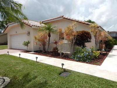 Boca Raton Single Family Home For Sale: 7277 Arcadia Court