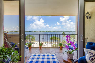West Palm Beach Condo For Sale: 5600 Flagler Drive #409