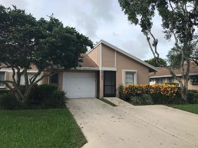 Boca Raton Single Family Home Contingent: 8201 Springtree Road #D
