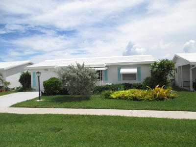 Boynton Beach Single Family Home For Sale: 2192 SW Congress Boulevard