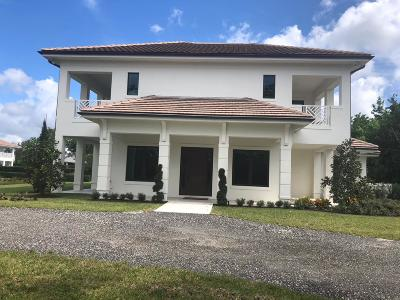 Palm Beach County Rental For Rent: 14492 Equestrian Way