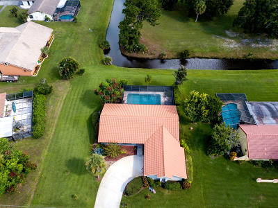 Port Saint Lucie Single Family Home For Sale: 2481 SE Morningside Boulevard