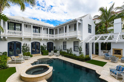 Palm Beach FL Single Family Home For Sale: $10,550,000