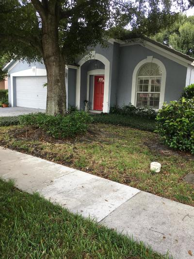 Jupiter Single Family Home For Sale: 116 Spoonbill Court