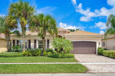 Boynton Beach Single Family Home For Sale: 9728 Dovetree Isle Drive