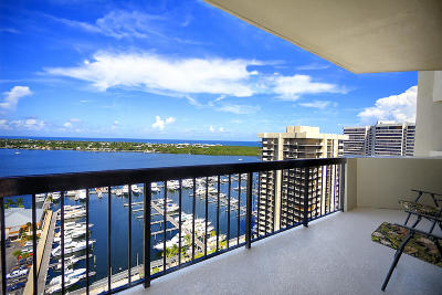 North Palm Beach Condo For Sale: 123 Lakeshore Drive #2145