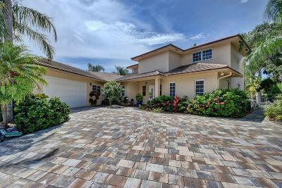 Broward County, Palm Beach County Single Family Home For Sale: 27 Hibiscus Way