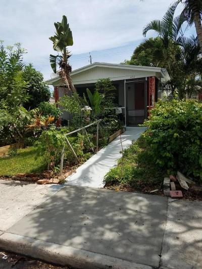 Lake Worth Single Family Home For Sale: 432 F Street