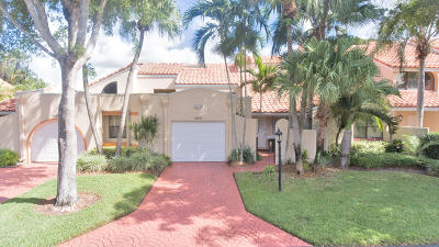 Boca Pointe Single Family Home For Sale: 22555 Meridiana Drive