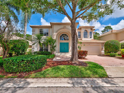 Palm Beach Gardens FL Single Family Home For Sale: $499,000