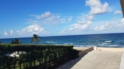 Palm Beach Condo For Sale: 3450 S Ocean Boulevard #3040