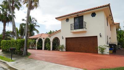 West Palm Beach Single Family Home For Sale: 106 Flagler Promenade