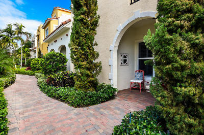 West Palm Beach Townhouse For Sale: 3663 Vintage Way #24