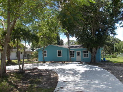 Fort Pierce Single Family Home For Sale: 5213 Bowling Green Drive