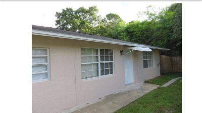 Fort Pierce Single Family Home Contingent: 348 Florida Avenue S