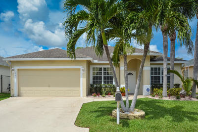 Greenacres Single Family Home For Sale: 1209 Olympic Circle