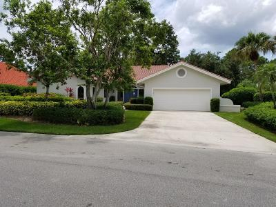 Palm City Single Family Home For Sale: 1584 NW Sweet Bay Circle
