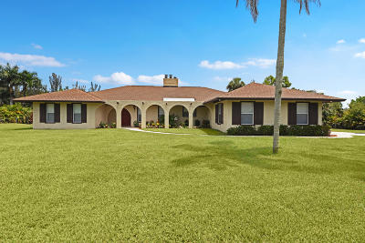 Jupiter Single Family Home For Sale: 12095 179th Court