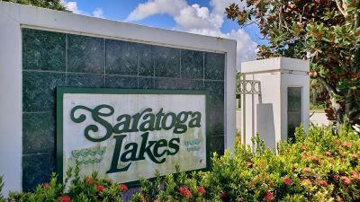 Royal Palm Beach Single Family Home For Sale: 155 Saratoga Boulevard E