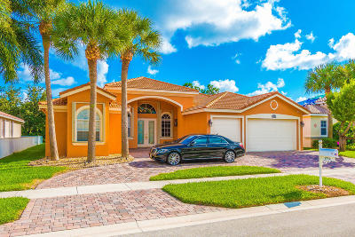 Lake Worth Single Family Home For Sale: 9754 Campi Drive