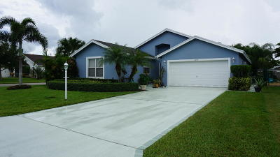 Stuart Single Family Home Contingent: 2484 SW Regency Road