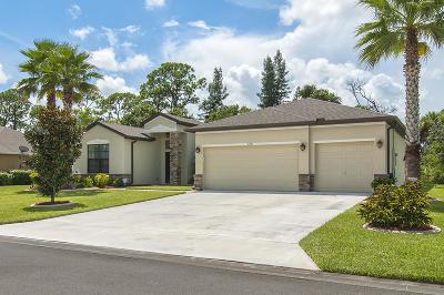 Vero Beach Single Family Home For Sale: 4787 Ashley Lake Circle