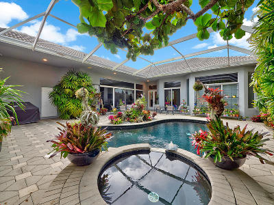 Palm Beach Gardens Single Family Home For Sale: 36 Bermuda Lake Drive