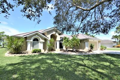 Fort Pierce Single Family Home For Sale: 4300 Redwood Drive