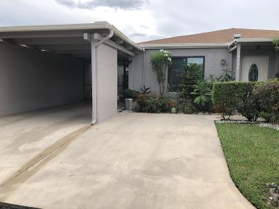 Delray Beach Single Family Home For Sale: 14846 Wildflower Lane