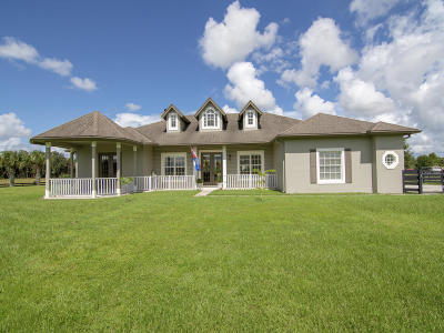 Fort Pierce Single Family Home For Sale: 4400 McCarty Road