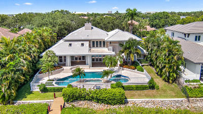 Jupiter Single Family Home For Sale: 159 Commodore Drive