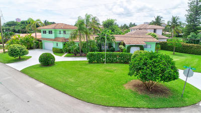 Palm Beach County Single Family Home For Sale: 175 NE Olive Way