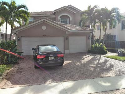 Boynton Beach Single Family Home For Sale: 11243 Millpond Greens Drive