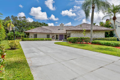 Palm Beach Gardens Single Family Home For Sale: 3 Glencairn Court