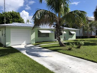 Fort Pierce Single Family Home For Sale: 1154 Bayshore Drive