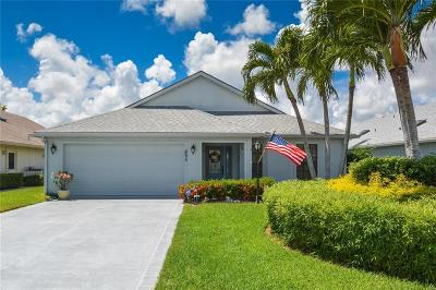 Hobe Sound Single Family Home Contingent: 6272 SE Ames Way