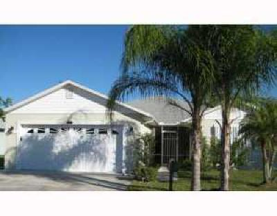 Fort Pierce Single Family Home For Sale: 14200 Dulce Real