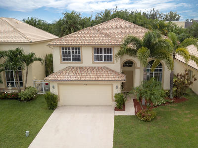 Boynton Beach Single Family Home Contingent: 7715 Colony Lake Drive