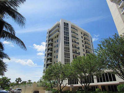 West Palm Beach Rental For Rent: 1617 Flagler Drive #703