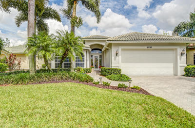 Port Saint Lucie Single Family Home For Sale: 8266 Riviera Way