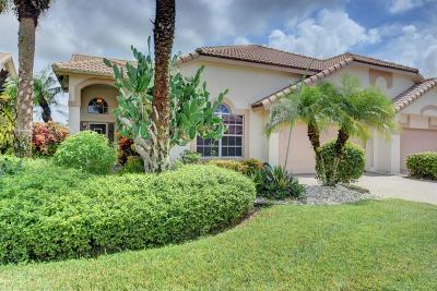 Boynton Beach Single Family Home For Sale: 7156 Ashford Lane
